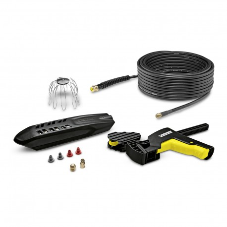 Karcher Roof gutter and pipe cleaning set 20mtr, Fits K2 to K7