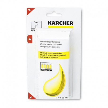 Karcher 4 x 20ml Window Cleaning Concentrate, 62953020