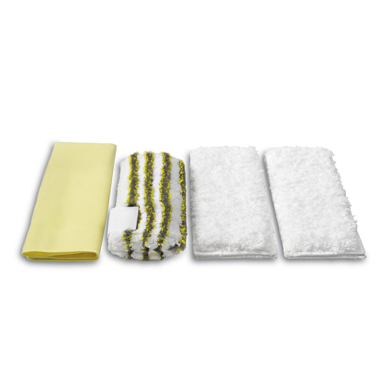 Karcher Microfibre cloth kit for bathrooms, 28631710
