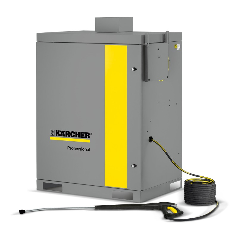 Karcher HDS-C 7/11 Stationary Hot Water Pressure Washer Cleaner Painted Steel Cabinet 1.319-214.0