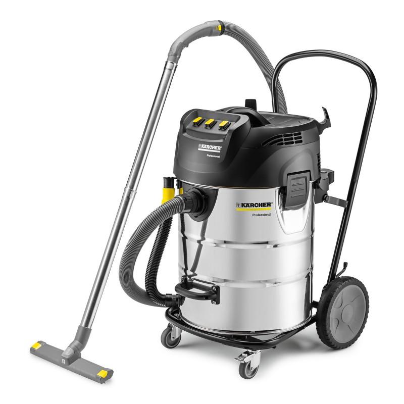 Karcher NT 70/3 Me Tc Wet & Dry vacuum Cleaner with Triple Vac Motors