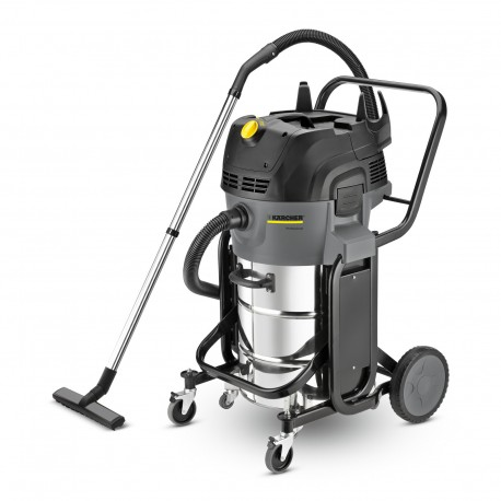 Karcher NT 55/2 Tact? Me I Wet & Dry vacuum Cleaner with Twin Vac Motors, 16672370