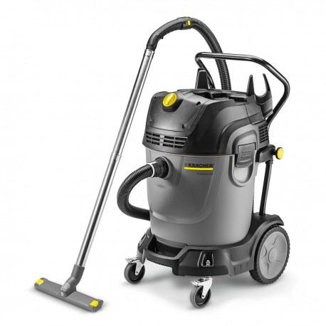 Karcher NT 65/2 Tact? Wet & Dry vacuum Cleaner with Twin Vac Motors, 16672860