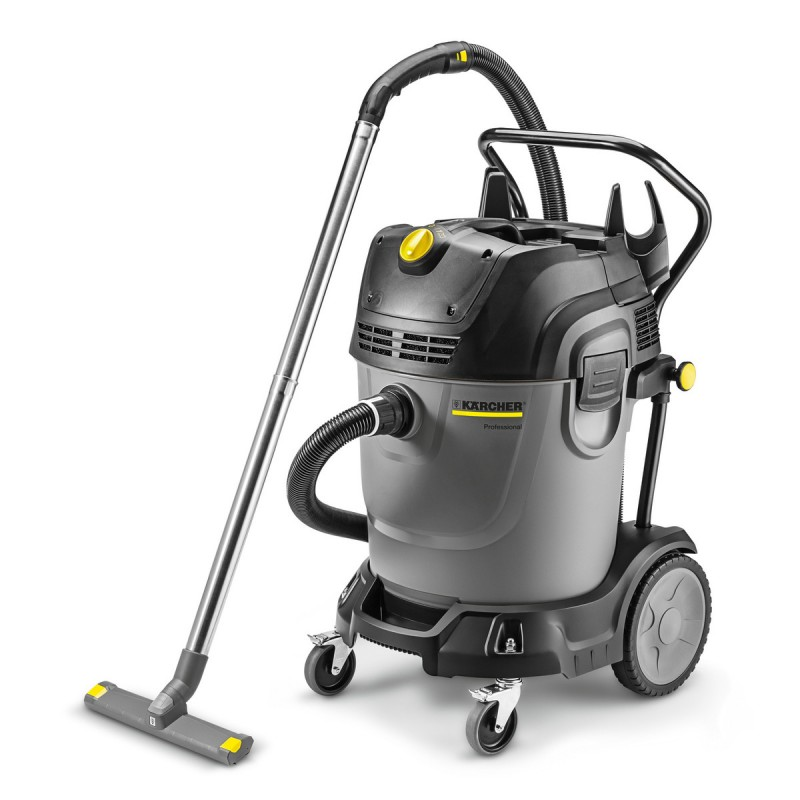 Karcher NT 65/2 Tact? Wet & Dry vacuum Cleaner with Twin Vac Motors