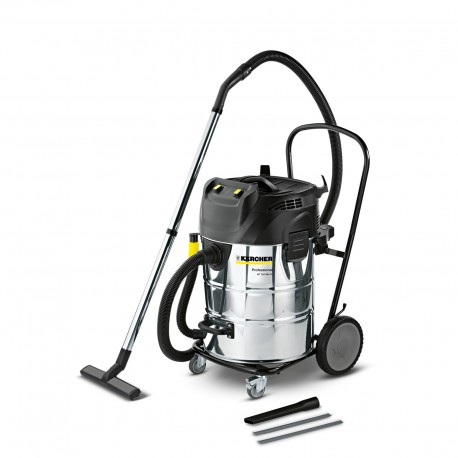 Karcher NT 70/2 Me Tc Wet & Dry vacuum Cleaner with Twin Vac Motors 16672720