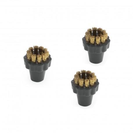 Karcher Set round brushes for SGV, Brass, 28630080