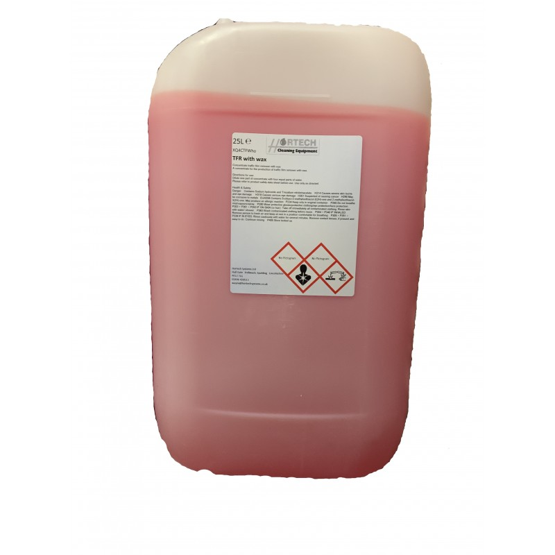 Traffic Film Remover with High Glossy Wax Finish 25ltr