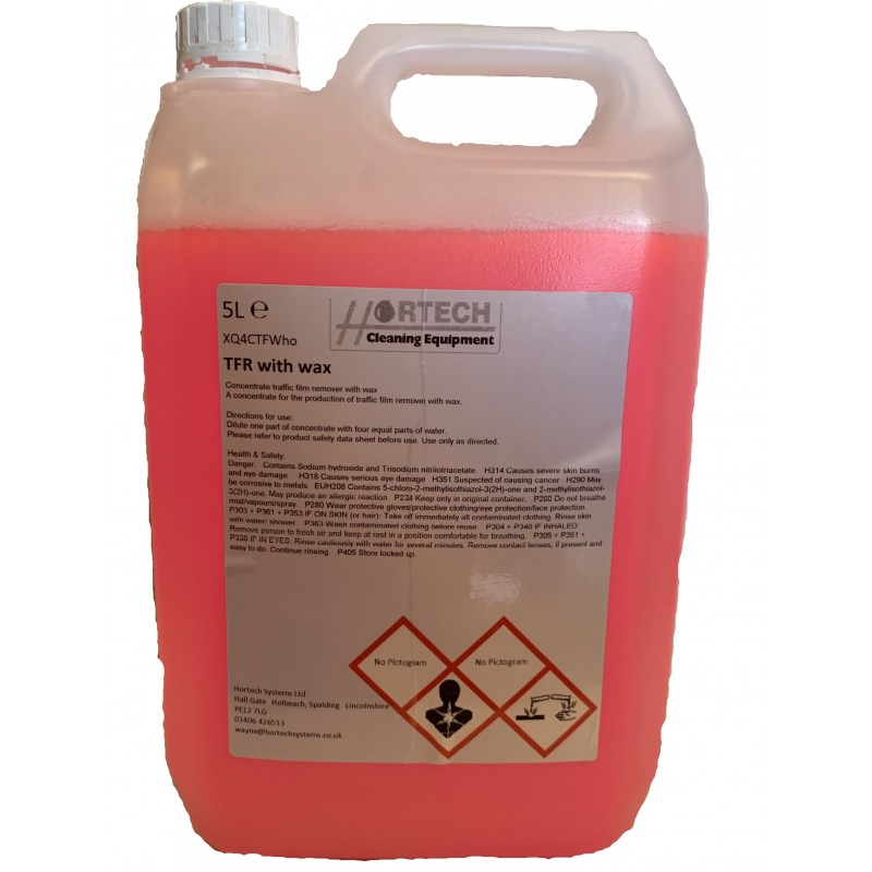 Traffic Film Remover with High Glossy Wax Finish 5ltr