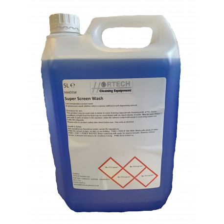 Super Screenwash 5ltr for Vehicle window screens