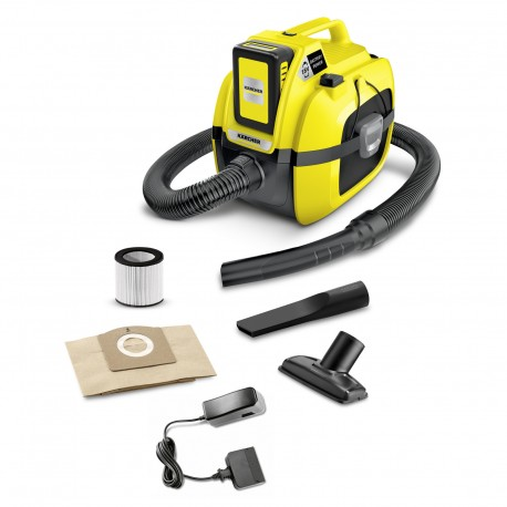 Karcher WD 1 Battery Wet & Dry Vacuum Cleaner