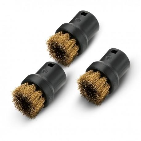 Karcher Round brush set with brass bristles 28630610