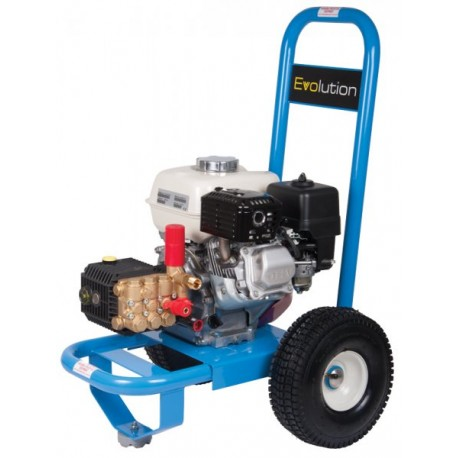 Honda Evolution 1 Series 12150 Cold Water Petrol Pressure Washer on wheels
