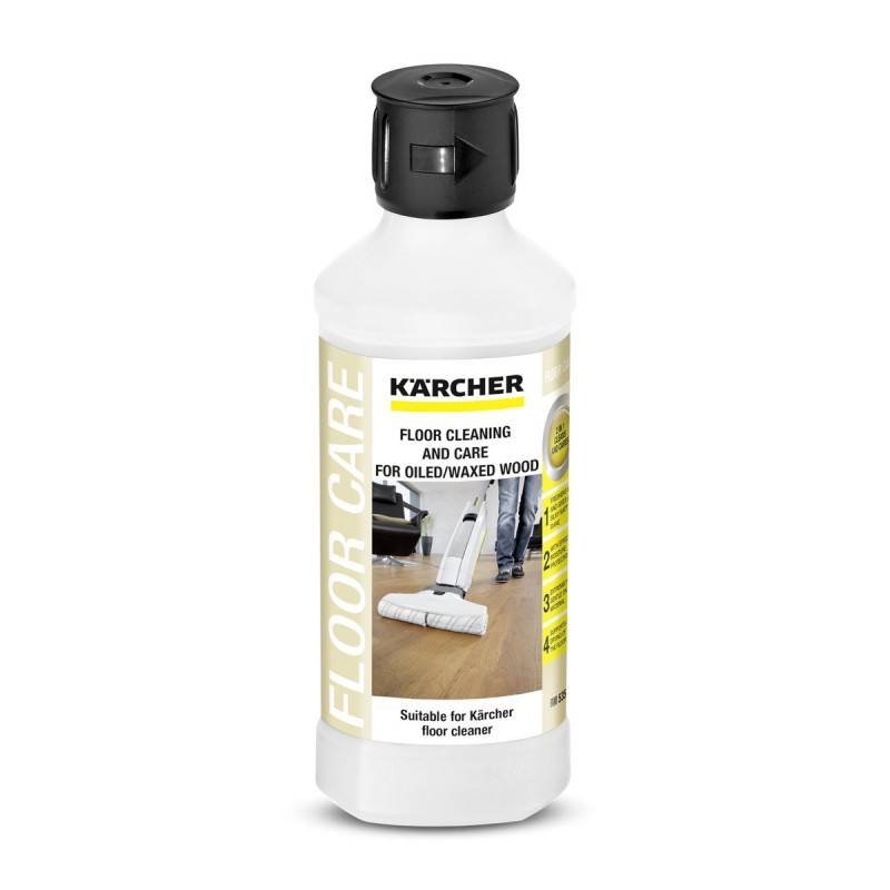 Karcher Oiled/Waxed Wooden Flooring Detergent RM535, 500ml, 62959420