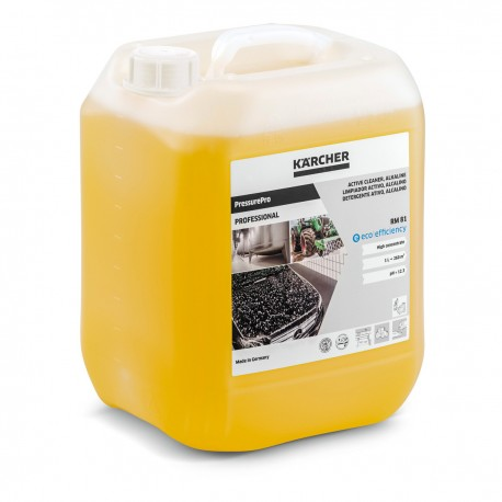 Karcher RM 81 PressurePro Active Cleaner, alkaline eco!efficiency 10 Ltr, 62956430