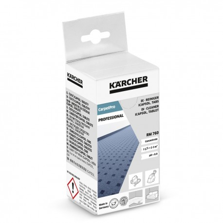 Karcher CarpetPro Cleaner iCapsol RM 760 Tablet, 16pack, 62958500