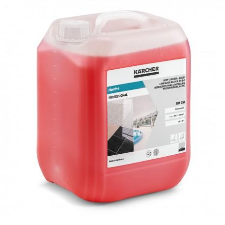 Karcher RM 751 FloorPro Deep Cleaner, acidic 10ltr, 62951290