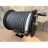 Wall Mounted High pressure Hose Reel kit complete with Hose, Options Available: 10, 15, 20, 25, 30, 35 & 50Mtr