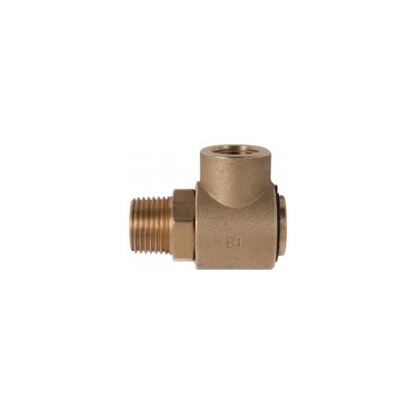 Replacement 90° Swivel Elbow for Wall Mounted Metal Hose Reel