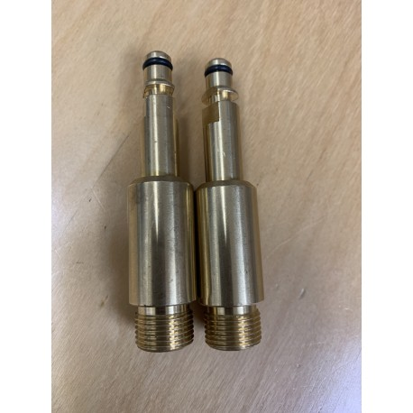 "Adaptor K-Machines x 3/8"" Male 2pack"