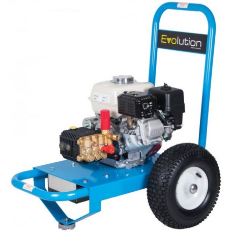 Honda Evolution 1 Series 12150 Cold Water Petrol Pressure Washer on Wheels- Electric Start