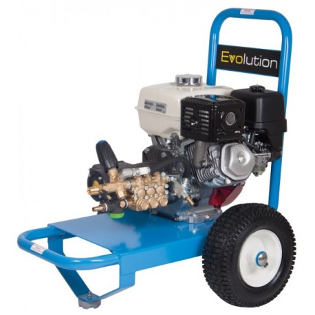 Honda Evolution 1 Series 16200 Cold Water Petrol Pressure Washer on Wheels