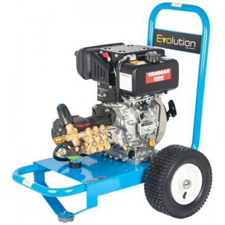 Yanmar Evolution 1 Series 13170 Cold Water Diesel Pressure Washer on Wheels
