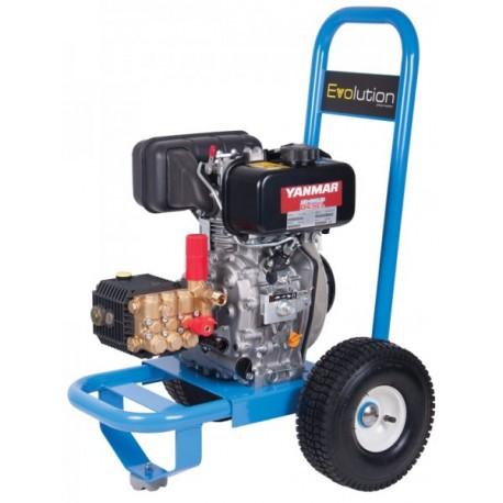 Yanmar Evolution 1 Series 12125 Cold Water Diesel Pressure Washer on Wheels
