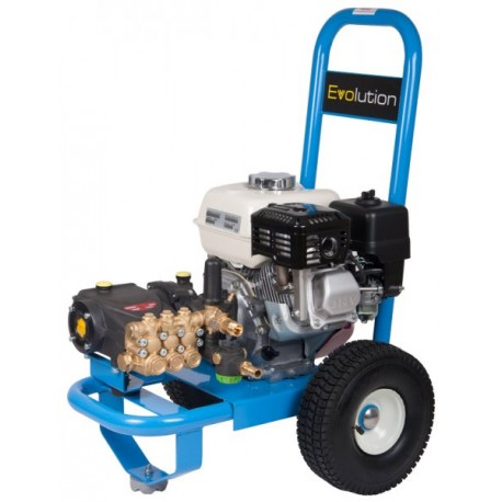 Honda Evolution 2, 14150  Cold Water Petrol Pressure Washer on Wheels