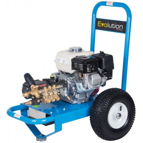Honda Evolution 2, 14150  Cold Water Petrol Pressure Washer on Wheels with Electric Start