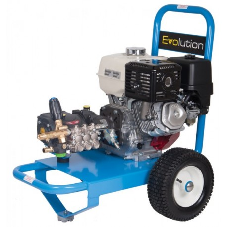 Honda Evolution 2, 15250  Cold Water Petrol Pressure Washer on Wheels with Electric Start
