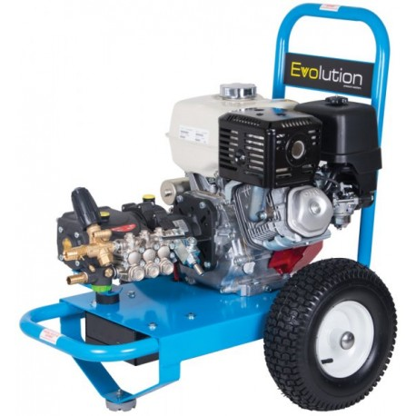 Honda Evolution 2, 21200  Cold Water Petrol Pressure Washer on Wheels with Electric Start