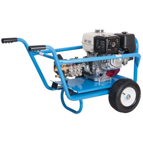 Honda Evolution 3, 15250  Cold Water Petrol Pressure Washer on Wheels With Electric Start