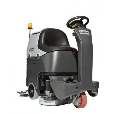 Nilfisk BR 652/752 Floor Scrubber Dryer- Ride on