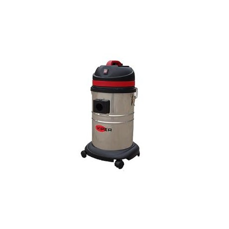 Viper LSU135 Single Motor Wet & Dry vacuum with Steel Container, 50000112