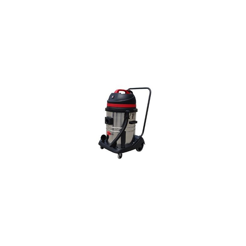 Viper LSU155 Single Motor Wet & Dry vacuum with Steel Container, 50000120
