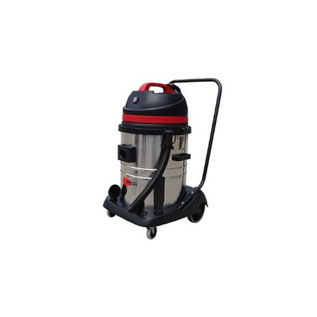 Viper LSU255 Double Motor Wet & Dry vacuum with Steel Container, 50000128