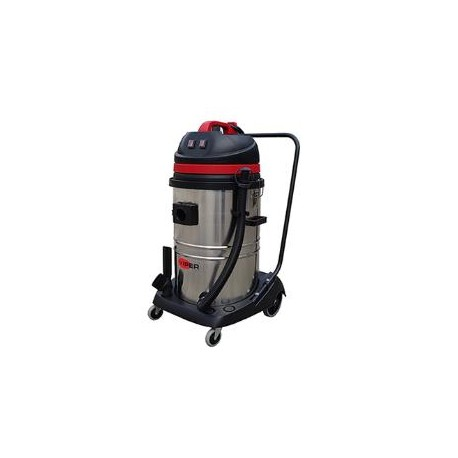 Viper LSU275 Double Motor Wet & Dry vacuum with Steel Container, 50000136