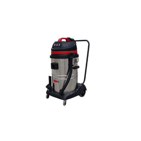 Viper LSU375 Triple Motor Wet & Dry vacuum with Steel Container, 50000142