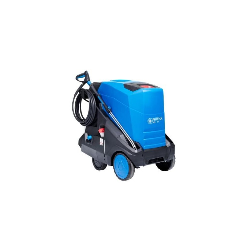 Nilfisk MH 7P-180/1260 FAX with hose reel heavy duty pressure washer 400v