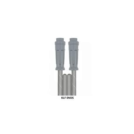 10m 2W 5/16 GREY V-TUF (ACE) HOSE KLF x KLF