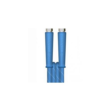 30m 2w 3/8 BLUE V-TUF HOSE 3/8F x 3/8F Cuffs