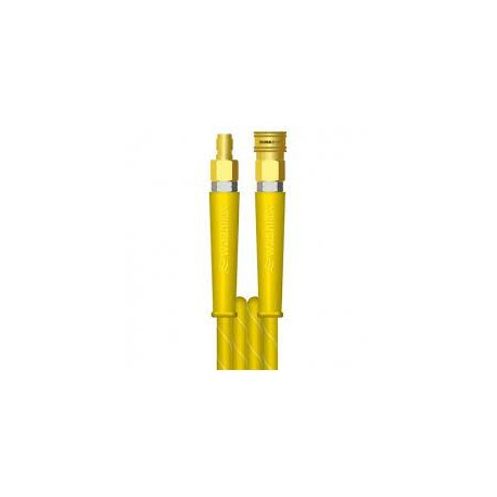 "30m 2w 5/16"" Yellow Hose DURAKLIX MSQ Couplings"