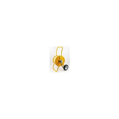 MANUAL WIND - HOSE REEL TROLLEY with 25m 3/4 Hose - V3.3425