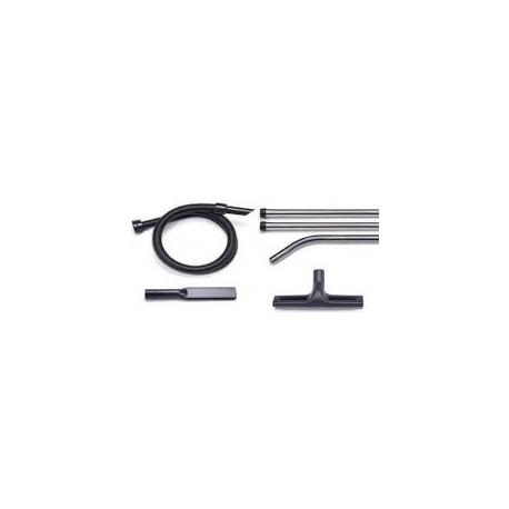 V-TUF Professional 38MM TOOL KIT 3M BLACK Hose, 3Piece Stainles Steel Tubes, 1x 420mm FLOOR TOOL