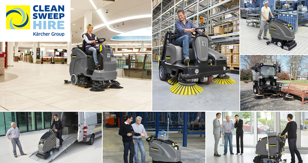 Hire Karcher Cleaning Equipment