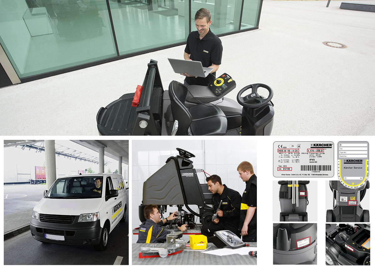 Karcher and Nilfisk On-Site Repairs